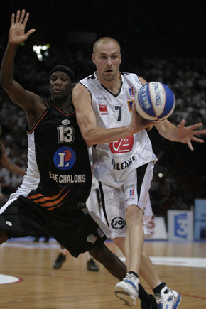 Le basketteur Johan Blot en 2006