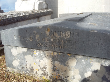 Tombe de Georges Bourbon